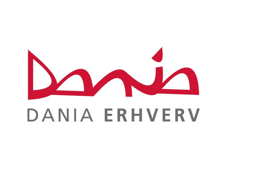 Erhvervsakademi Dania logo - samarbejdspartner Incento
